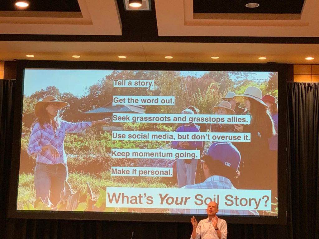 Josh Tickell. What's your soil story?