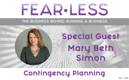 Ep. 139 - Mary Beth Simon - Contingency Planning