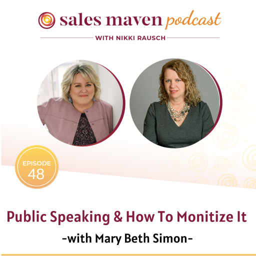 Sales Mave Podcast with Mary Beth Simon
